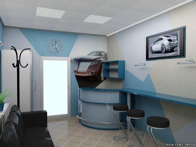 Дизайн для автомойки